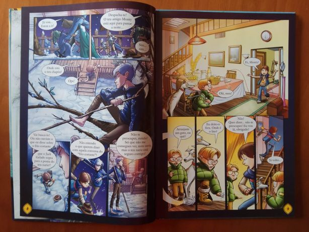 """Livro - """" A origem dos Guardiões"""""""