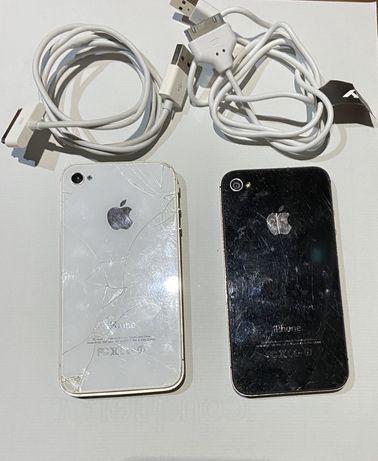 Dois iPhones 4 bloqueados para peças