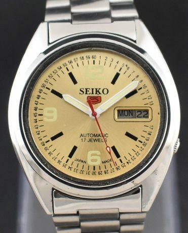 SEIKO Joia 17 Automático 5 - Relógio de Pulso Made Japan. 35 mm
