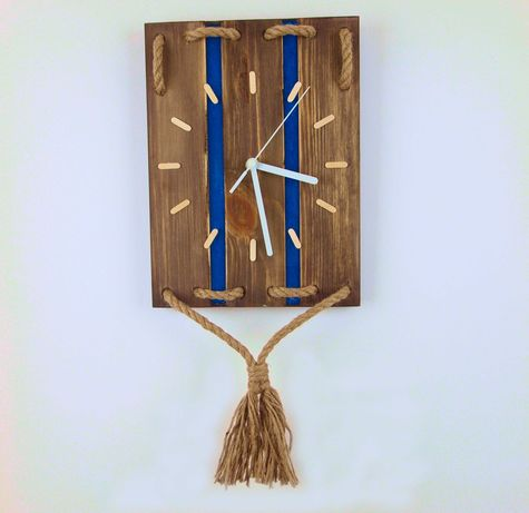 Zegar ścienny - handmade.