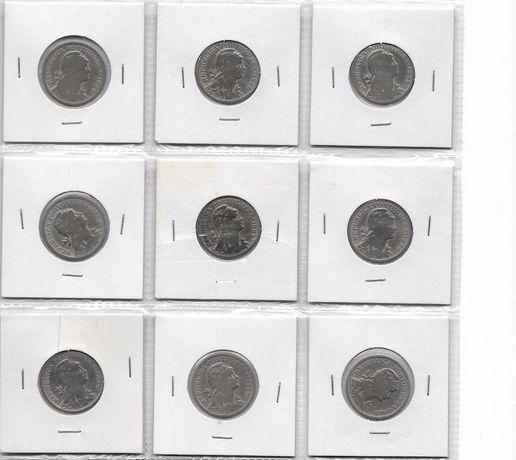 Coleção de moedas 50 centavos $50