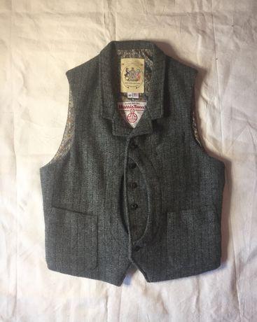 Жилет Monitalty (Harris Tweed) (НЕ Engineered Garments, Barbour)