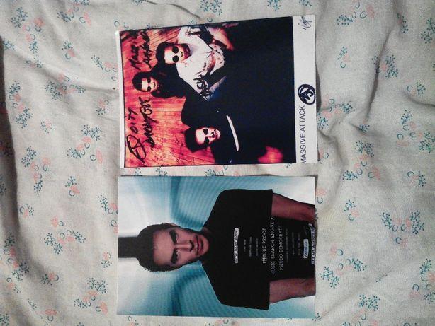 открытка принт автографы massive attack Киану Ривз Keanu Reeves