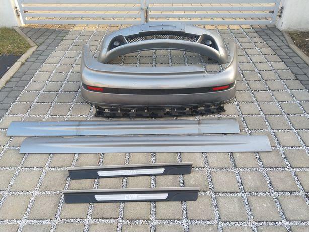 BMW E46 Coupe lift zderzak tył listwy nakładki progowe
