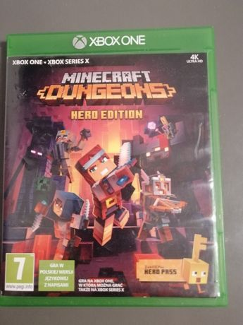 Gra minecraft dungeons hero edition x box one