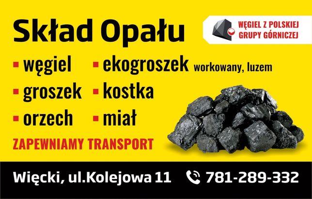 Węgiel, Ekogroszek-Skład Opału