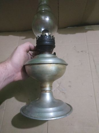 Керосиновая алюминиевая лампа