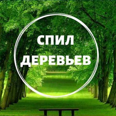 Спил деревьев , осмотр Бесплатно !