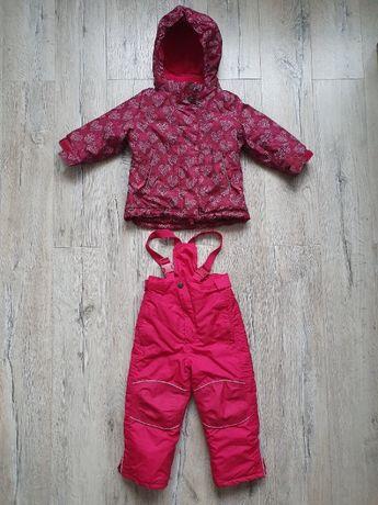 Kurtka + spodnie komplet narciarski 86-92 Tchibo kombinezon