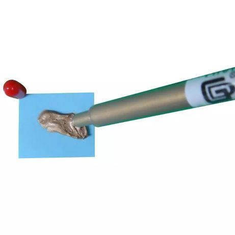 Золотая силиконовая термопаста для ЦП