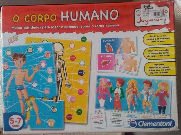 Jogo O Corpo Humano_Clementoni