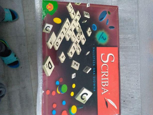 scriba gra aleksnder dla dzieci 8+, 2-4 graczy jak nowa