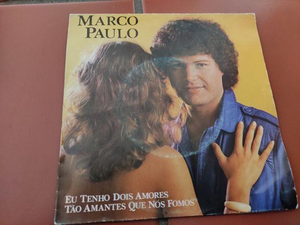 Disco Vinil Marco Paulo- Eu Tenho Dois Amores
