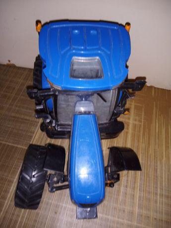 Трактор на радиоуправлении без колеса