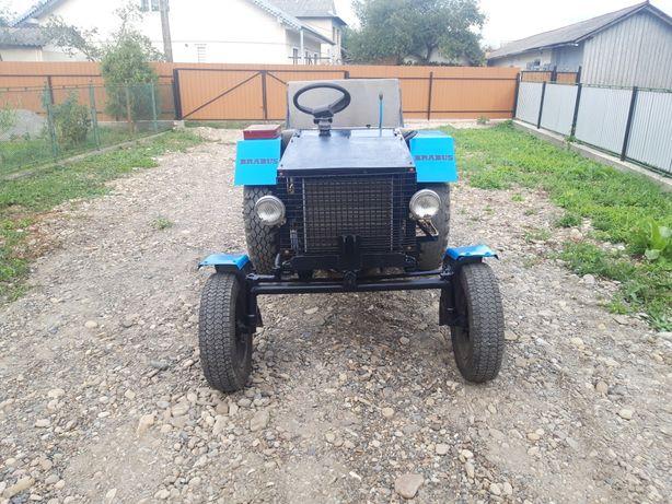 Саморобний трактор обмін