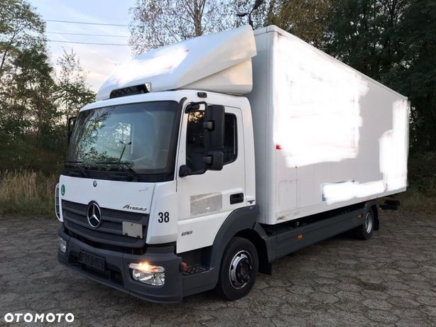 Mercedes-Benz Atego 818  Kontener 7m , Euro6
