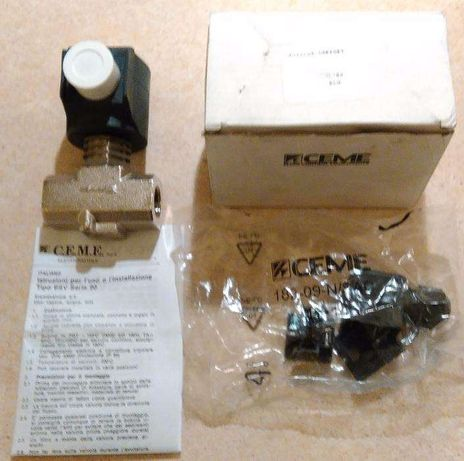 Elektrozawór CEME 9013 z cewką 230 V
