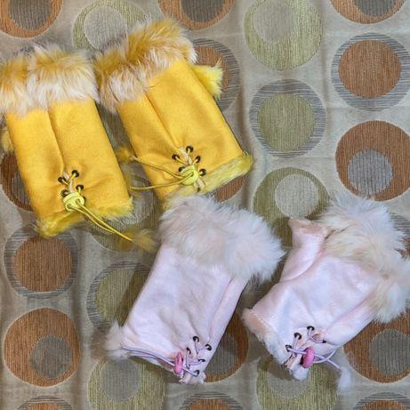Перчатки женские без пальцев