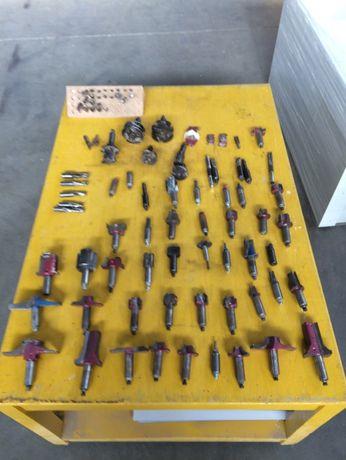 Frezes para madeira, CNC
