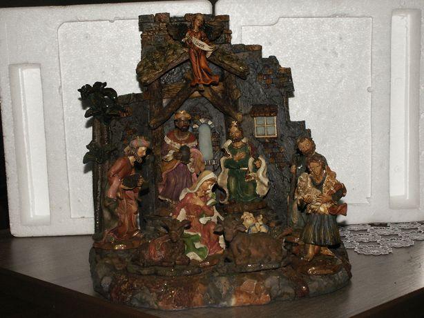Szopka Bożonarodzeniowa -Scenka Bożonarodzeniowa - Stajenka