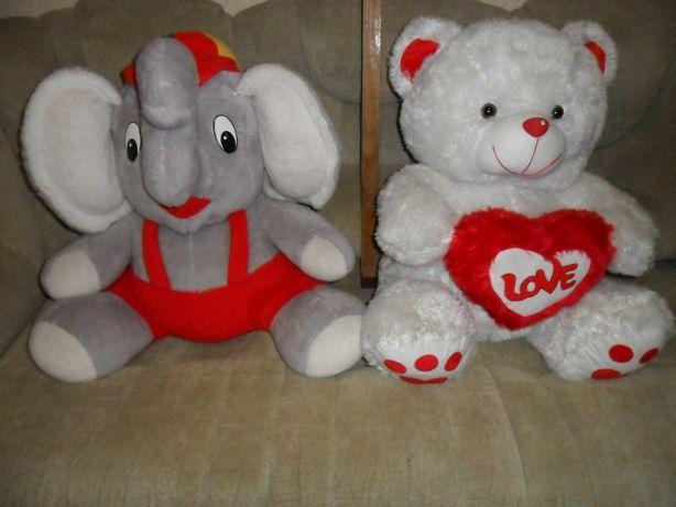 Мягкая игрушка Слон и Мишка