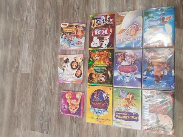 Bajki DVD Disney nowe zafoliowane. Ok.30dvd. Spis w opisie.