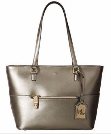 Новая кожаная сумка Ralph Lauren, оригинал