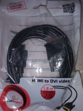 Kabel HDMI to DVI 1.8m