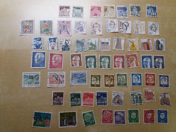 Znaczki pocztowe Niemcy - serie