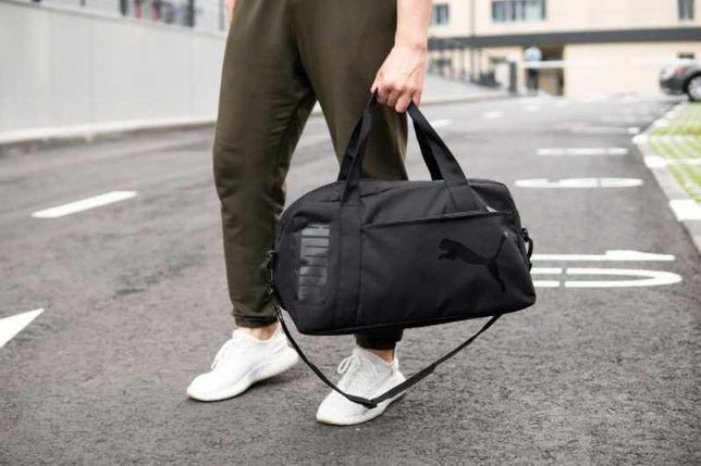 НОВИНКА! Мужская сумка спортивная дорожная PUMA пума для спорта 71
