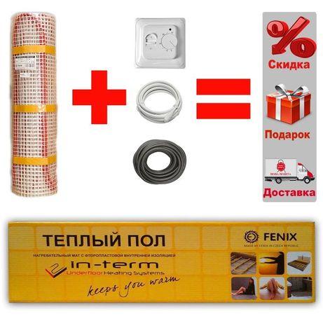 Нагревательные маты In-term Теплый пол электрический Нагрівальні мати