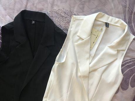 Кардиган белый и черный