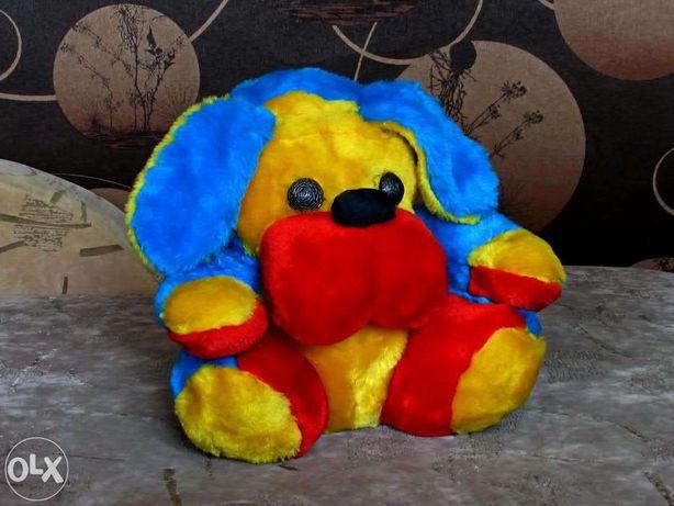 Плюшевая игрушка собака 30см.