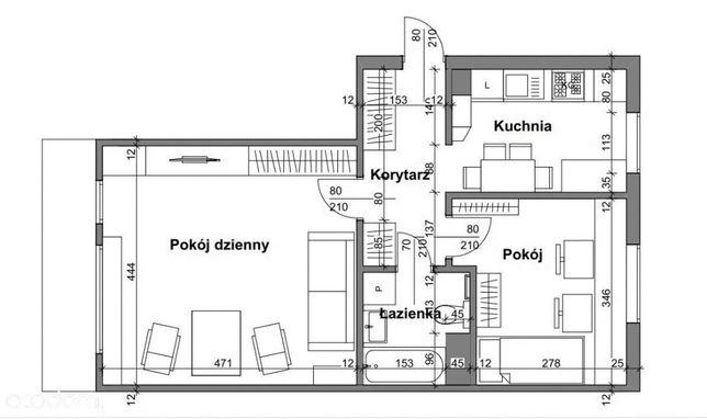 Mieszkanie 52m2 na sprzedaż - bezpośrednio