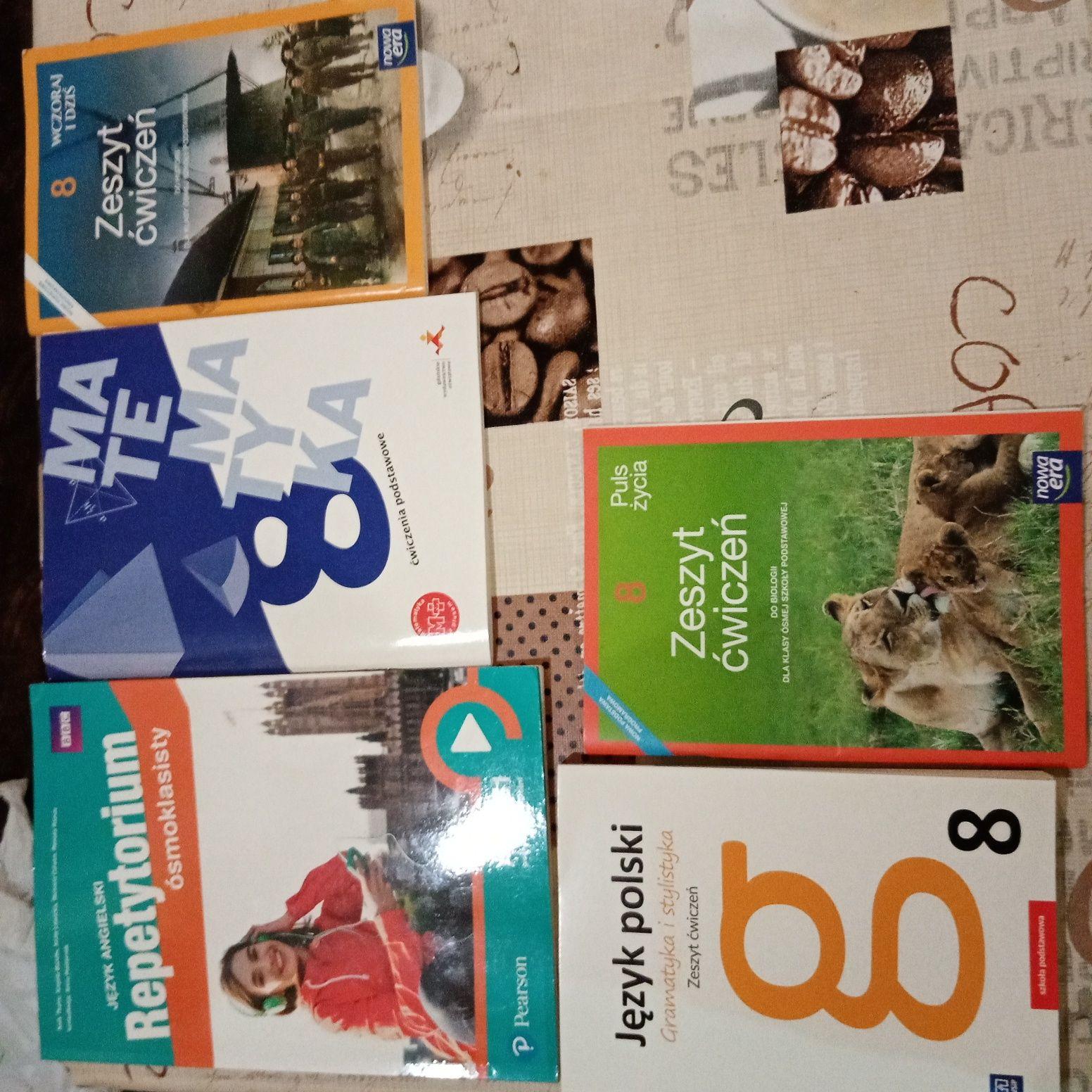 Sprzedam ćwiczenia kl 8 i podręcznik język angielski