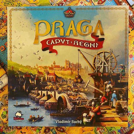 Praga Caput Regni jogo tabuleiro board game