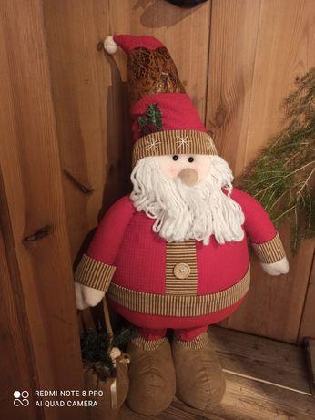 Mikołaj na teleskopowych nogach ozdoba świąteczna święta