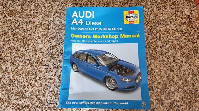Audi A4 B8 / 8K Manual de manutenção e Reparação