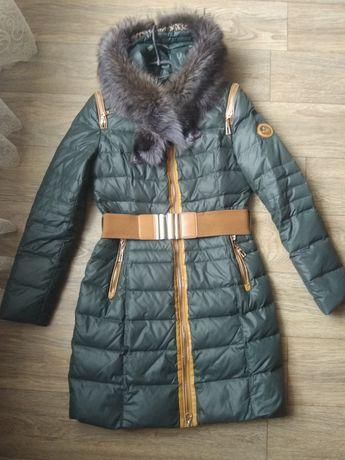 Зимова куртка,пуховик. Зимнее пальто,пуховик 46