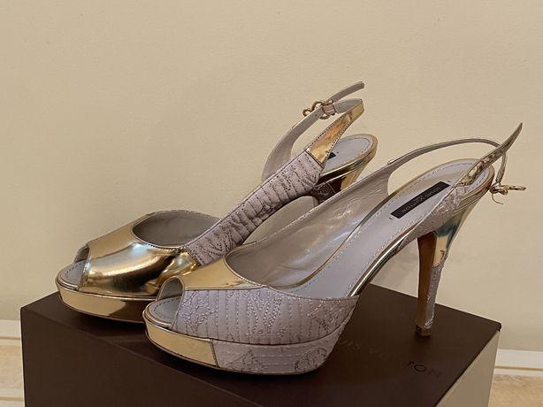 LOUIS VUITTON оригинальные туфли S:40