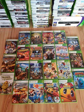 Pacman Rio Shrek Worms gry do Xbox 360