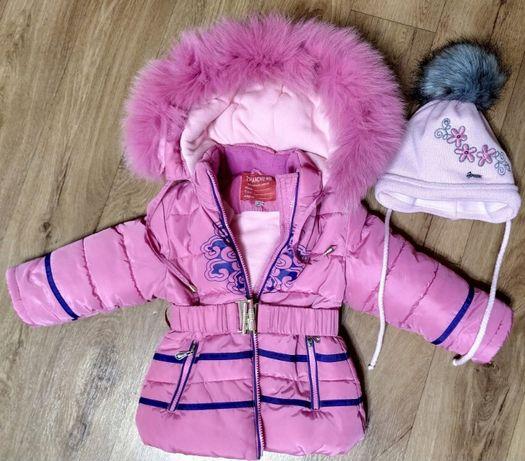 Продам детский зимний термокомбинезон для девочки