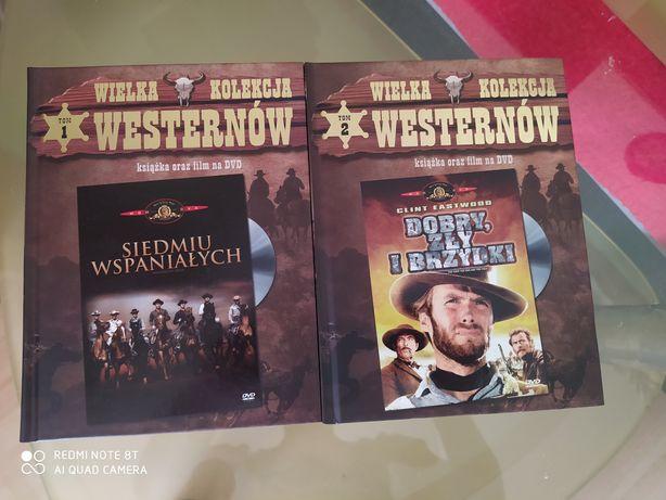 Kolekcja filmów Westerny  7 Wspaniałych. 2 tomy plus książeczka