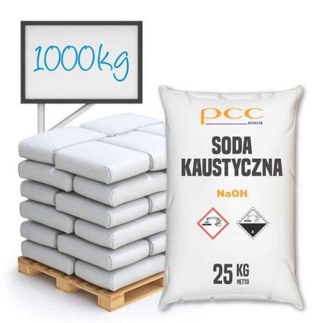 Soda Kaustyczna płatki 1000 kg
