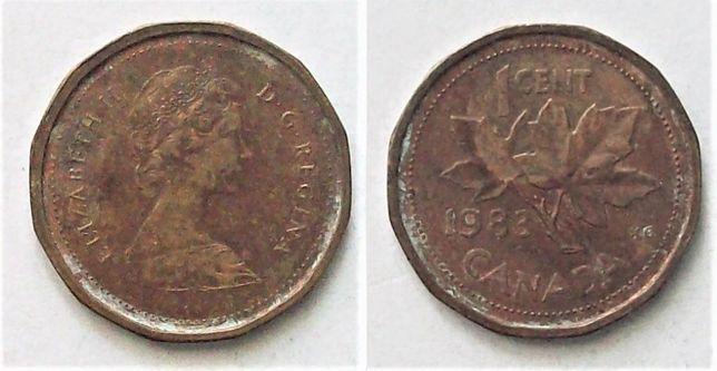 Kanada 1 cent rok 1983