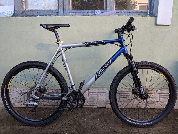 Велосипед 2danger pole p, гидравлические тормоза, вилка rockshox, 26'