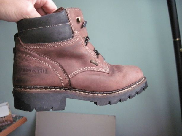Ботинки зима Fun&go, кожа, шерсть, мембрана Sympa-tex, как Timberland