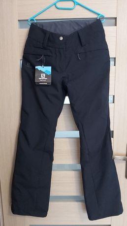 Nowe damskie spodnie narciarskie Salomon Rise M
