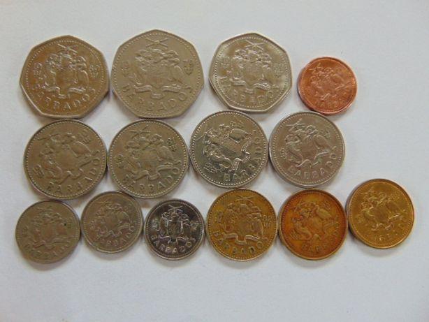 Monety Barabados.Zamienię na polskie