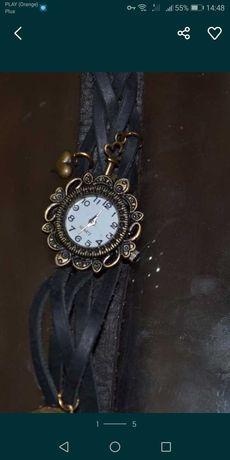 Zegarek ręcznie robiony